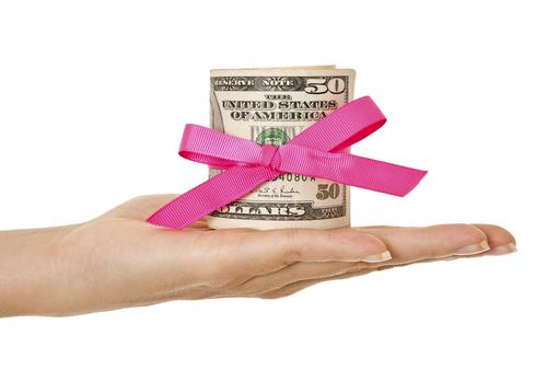 Свадебный подарок деньги на 9